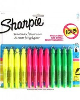 MINI DESTACADORES SHARPIE COLORES 1 UND